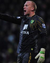 norwich keeper john ruddy could return against aston villa